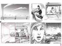 Some rough storyboard for today