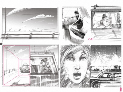Some rough storyboard for today sketch movie storyboarding sketching drawing storyboard