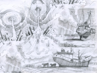 Some quick sketches for unfinished ink illustration pencil traditional art sketching game development concept art sketch illustration pencil drawing