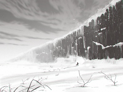 Storyboard 10 The Snow Wall