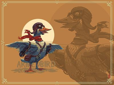 Leutenant Anatole Bomberduck  💣🦆💣 air force bomber casual game cartoon duck retro gaming 16bit gamedev gameart characterdesign pixel art pixelart aseprite sprite