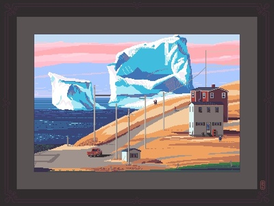 When icebergs come to town