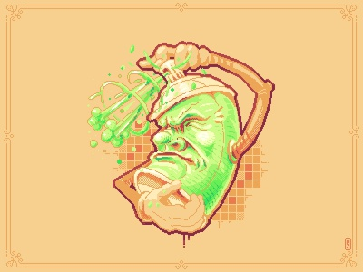 spray can gamedev gameart aseprite sprite pakopixel character design characterdesign 8bit pixel art pixelart spraycan can spraypaint spray graffiti