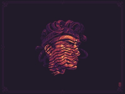 Mr. Scroll face