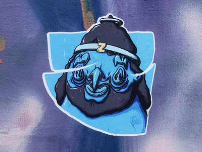 John. Sticker.
