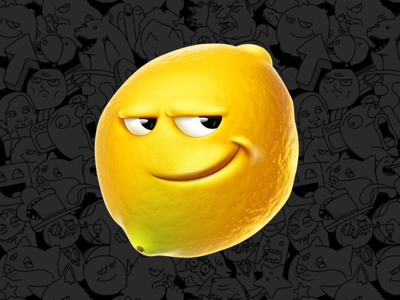 Картинки поздравлением, картинки лимона веселого