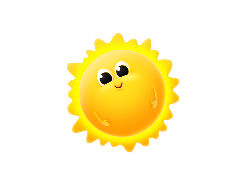 Sun! fat sun