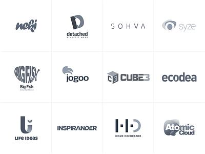 Logofolio 2018 - Selected Works rafi.pl branding logodesign logofolio logo