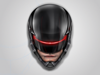 Robocop 2014 - No 3D used, all vectors