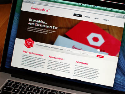 The Freelance Box - Website   Ui