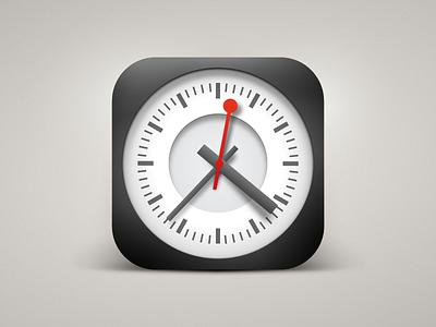 Mondaine Clock mondaine clock vectors no 3d 3d app icon apple icon ios icons