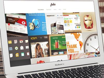 New Portfolio Design portfolio design icons ios apps responsive illustrations pixel-perfect fabio benedetti
