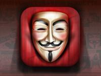 Guy Fawkes mask vector illustration