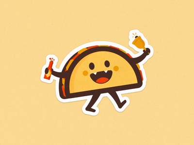 Taco Dribbble