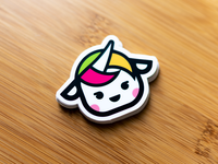 Unicorn Sticker by Cocorino