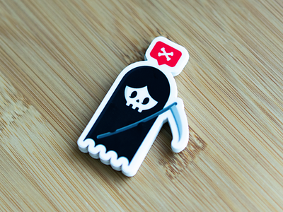 New Reaper Sticker by Cocorino doomsday doom skull design skull stickers tattoo reaper rad merch best uk designers brand study londo brand design app design logo design sticker app stickermule cocorino stickers cocorino design band