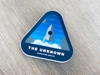 The Unknown - Space Sticker