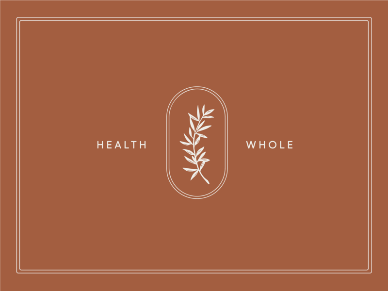 Health & Whole hand drawn illustration adiantum maidenhair fern