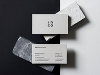 Inco Architects Business Cards