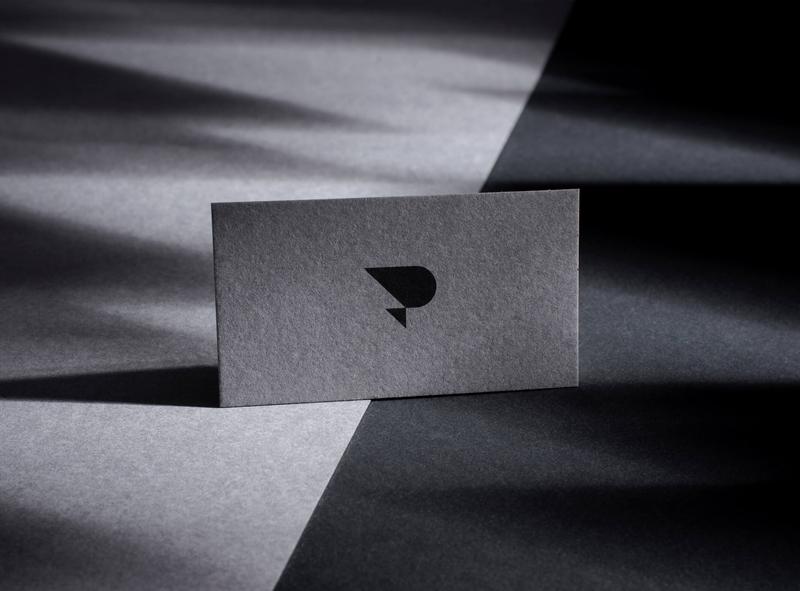 Passiflora Films Logo production house symbols business card circle minimal print symbol identity branding logo