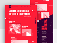Event & Conference Website Design