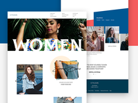 Fashion Brand Website Design