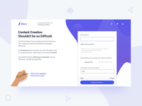 Glave Website Design