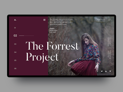 UI Experiment  #49 rishi shah one page website typography minimal homepage mondrianizm font free experiment ahmedabad