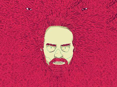 Autoportrait (Éditions terriennes) red hair portrait