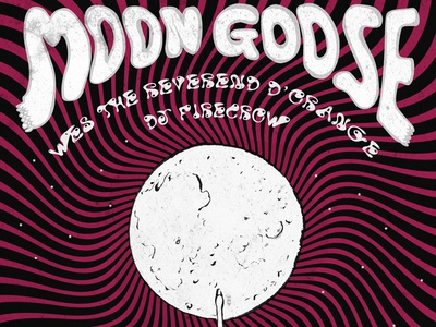 Moon goose gig poster #1