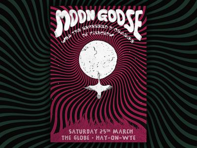 Moon Goose @ Globe Gig Poster