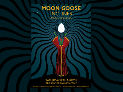 Moon Goose at the Globe 2018 full poster