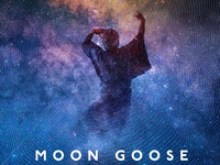 Moon Goose @ New Radnor Gig Poster (detail)