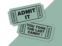 Admit it!