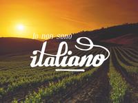 Io non sono italiano