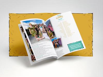Theater Flanel | program book