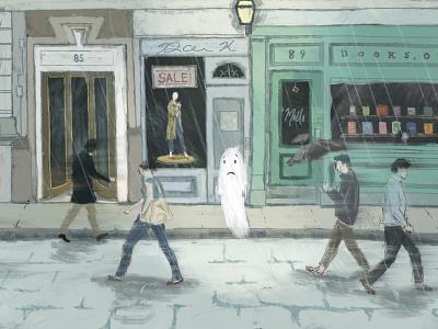 Feelin' Ghosty digital painting digital illustration digital art illustration procreate art procreate