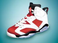 Jordan #6 Carmine 1991