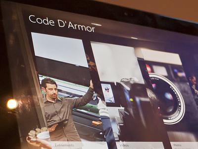 Code D'Armor windows 8 code darmor application modern ui metro windows 8