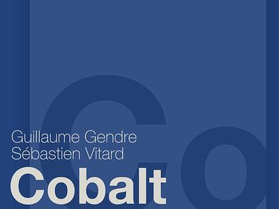 Cobalt event poster cobalt event poster