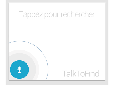 Start screen android voice application recognition internet search google microphone