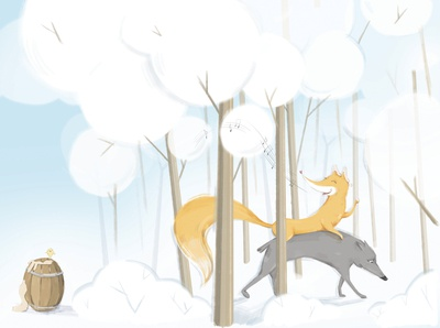 'A fairytale about the Fox and the Wolf'