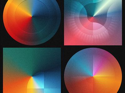Noise + Gradients (Figma Study) texture gradient noise illustration vector design