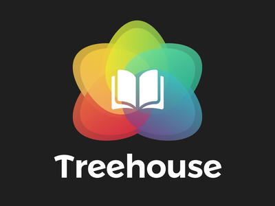 Treehouse - Branding revision application web icon typography branding design redesign app ux ui logo
