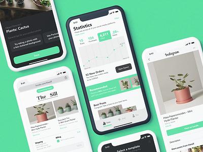 Locale - Mobile outreach solution app branding web typography branding design application app ux ui