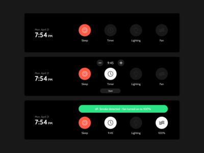 Range Hood - UI Redesign