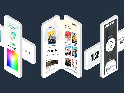 Guide - Smart Remote remote application vector branding design ux ui