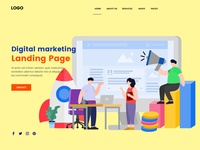 SEO Digital Marketing Landing Page