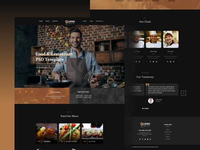 Food and Restaurant Template