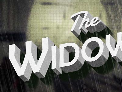 The Widow film noir